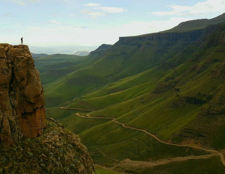 Een warm welkom in Lesotho via de Sani Pass