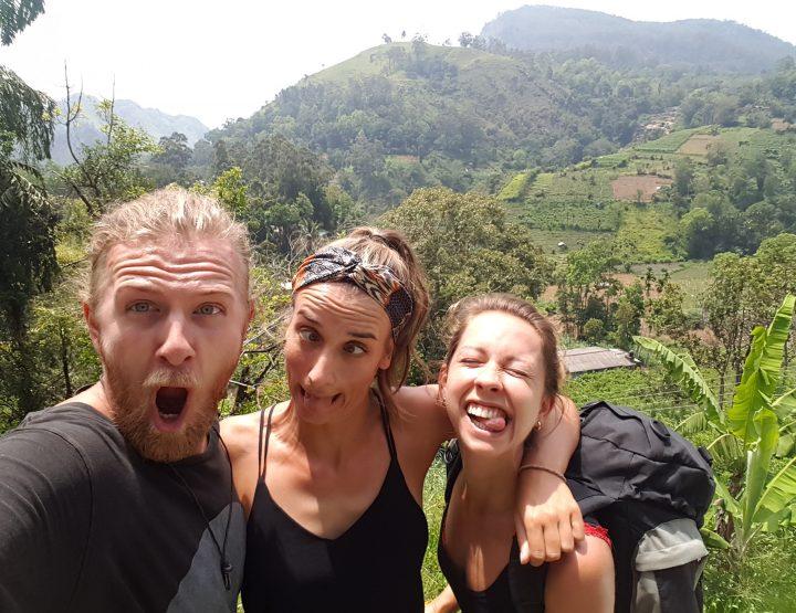 Met de tuk tuk op rondreis door Sri Lanka ... 3 vrienden, 3 weken, 3 wielen!