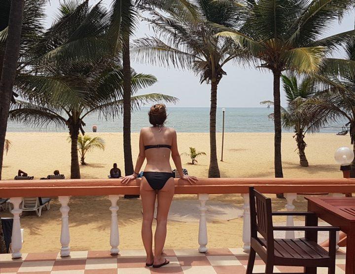 Aankomen in Sri Lanka