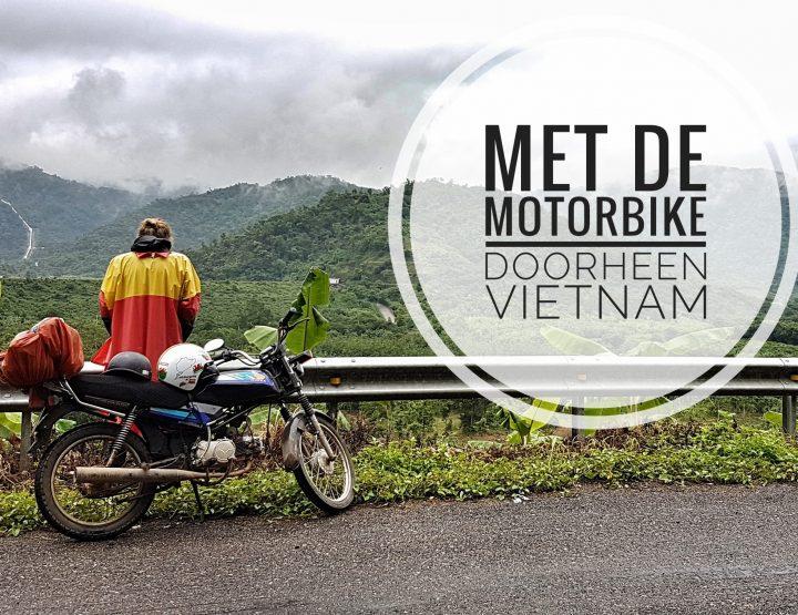 Met de motorbike door Vietnam