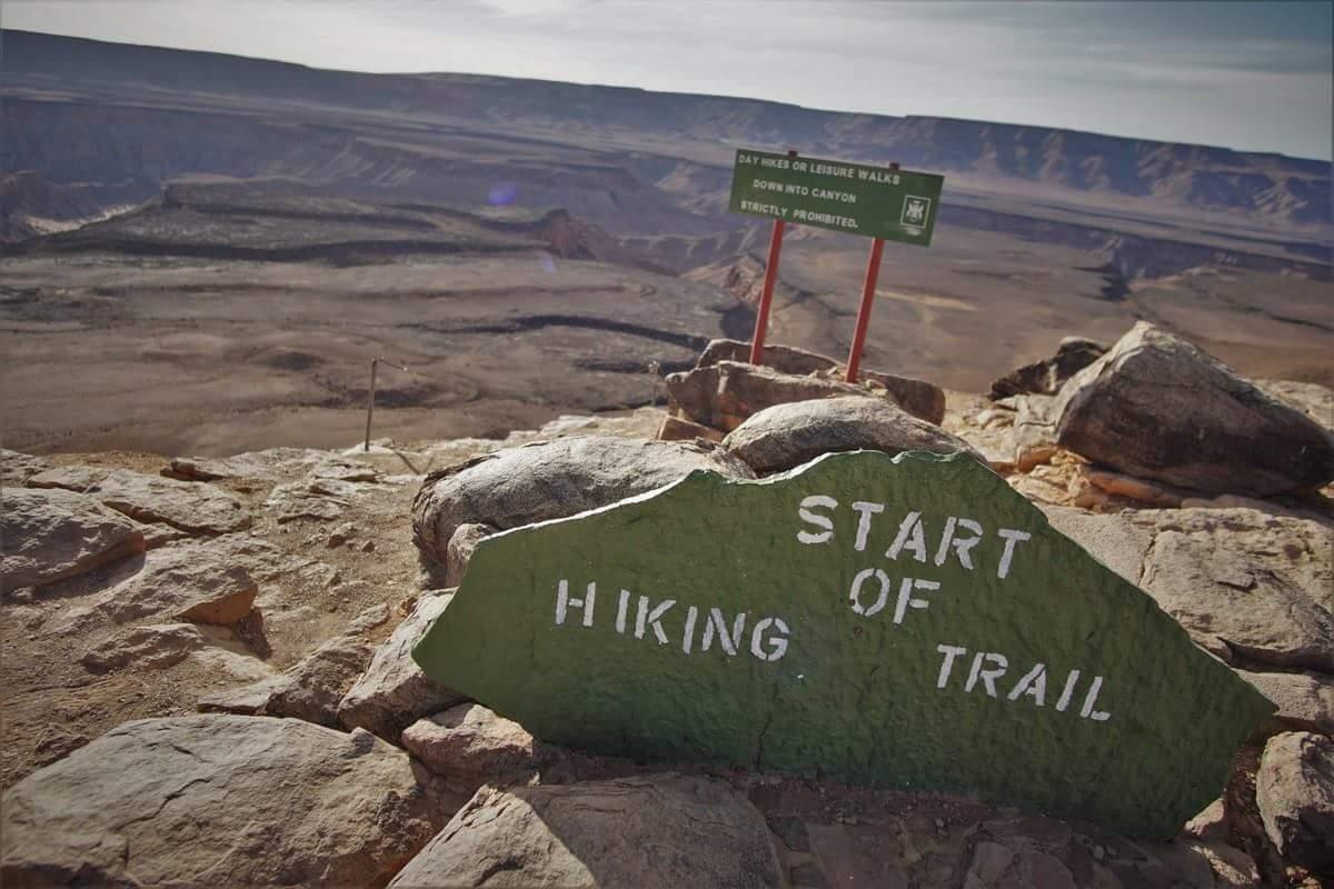 Start jouw Appalachian trail hier